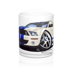 Ford / Shelby Mustang (2006) GT500 - Caricature Car Art Coffee Mug