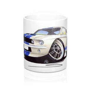 Ford / Shelby Mustang (1967) GT500 - Caricature Car Art Coffee Mug