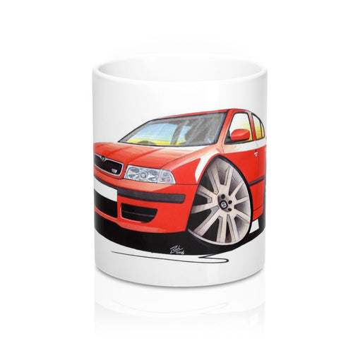 Skoda Octavia 1 vRS - Caricature Car Art Coffee Mug