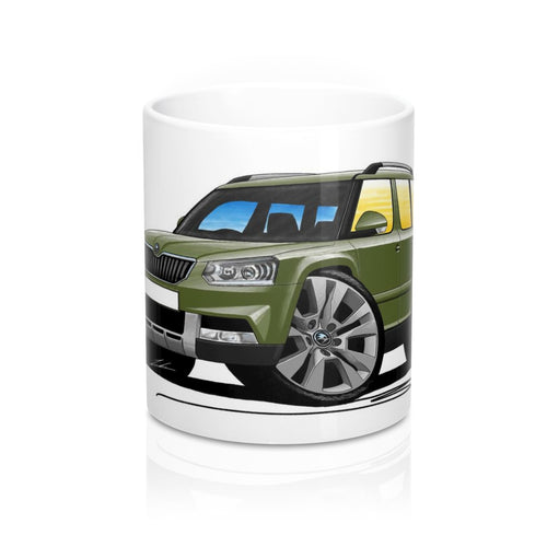 Skoda Yeti (Facelift) Outdoor - Caricature Car Art Coffee Mug