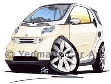 Load image into Gallery viewer, Smart Fortwo (Mk1) - Caricature Car Art Coffee Mug