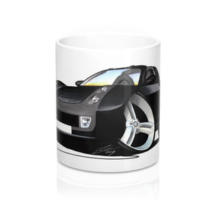 Smart Roadster (Black Tridion) - Caricature Car Art Coffee Mug