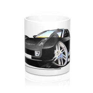 Smart Roadster Brabus (Silver Tridion) - Caricature Car Art Coffee Mug