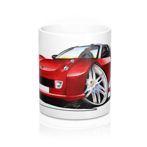 Smart Roadster-Coupe Brabus RCR Racing Edition - Caricature Car Art Coffee Mug