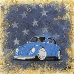 'Starry Bug' - Original Painting on OSB