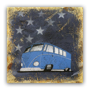 'Starry Splitty' - Original Painting on OSB