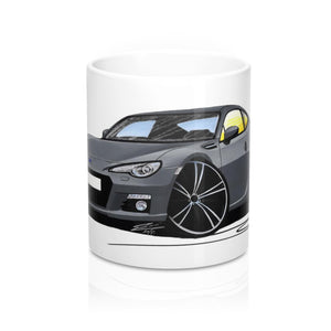 Subaru BRZ - Caricature Car Art Coffee Mug