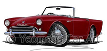 Load image into Gallery viewer, Sunbeam Alpine - Caricature Car Art Coffee Mug