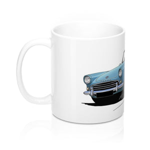 Sunbeam Alpine - Caricature Car Art Coffee Mug