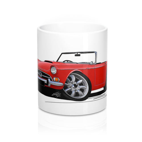 Sunbeam Tiger - Caricature Car Art Coffee Mug