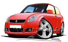 Load image into Gallery viewer, Suzuki Swift (ZC11S) - Caricature Car Art Coffee Mug