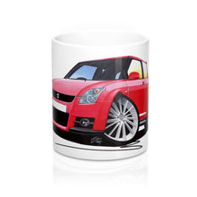 Load image into Gallery viewer, Suzuki Swift Sport (ZC31S) - Caricature Car Art Coffee Mug
