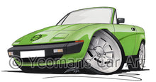 Load image into Gallery viewer, Triumph TR7 DHC Convertible - Caricature Car Art Print