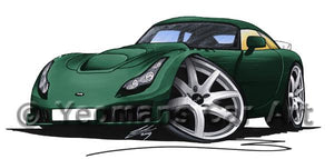 TVR Sagaris - Caricature Car Art Coffee Mug