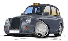 Load image into Gallery viewer, London TX4 Taxi - Caricature Car Art Coffee Mug