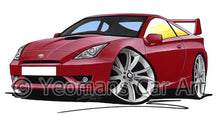 Load image into Gallery viewer, Toyota Celica (Mk7)(Facelift) GT - Caricature Car Art Coffee Mug