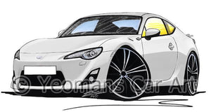 Toyota GT86 - Caricature Car Art Coffee Mug