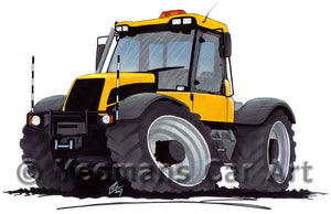 Tractor 1 - Caricature Car Art Print