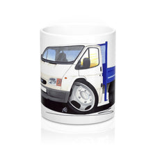 Load image into Gallery viewer, Ford Transit (Mk5) Tipper - Caricature Car Art Coffee Mug