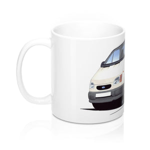 Ford Transit (Mk5) Tipper - Caricature Car Art Coffee Mug