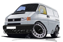 Load image into Gallery viewer, VW T4 Transporter Van (Grey Bumper) - Caricature Car Art Coffee Mug