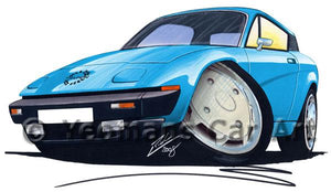 Triumph TR7 FHC Coupe - Caricature Car Art Coffee Mug