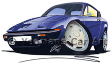 Load image into Gallery viewer, Triumph TR7 FHC Coupe - Caricature Car Art Print