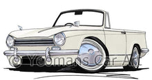 Load image into Gallery viewer, Triumph Herald 13/60 - Caricature Car Art Coffee Mug