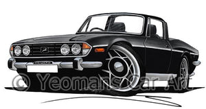 Triumph Stag - Caricature Car Art Coffee Mug