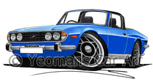 Load image into Gallery viewer, Triumph Stag - Caricature Car Art Print