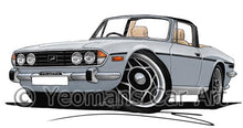 Load image into Gallery viewer, Triumph Stag - Caricature Car Art Coffee Mug