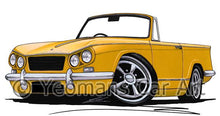 Load image into Gallery viewer, Triumph Vitesse Convertible- Caricature Car Art Coffee Mug