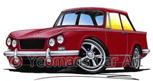 Load image into Gallery viewer, Triumph Vitesse - Caricature Car Art Coffee Mug