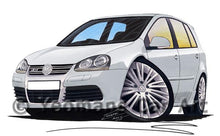 Load image into Gallery viewer, Volkswagen Golf (Mk5) R32 (5dr) - Caricature Car Art Coffee Mug