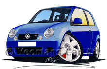 Load image into Gallery viewer, Volkswagen Lupo GTi - Caricature Car Art Print