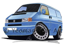 Load image into Gallery viewer, VW T4 Transporter Van - Caricature Car Art Coffee Mug