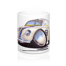 Load image into Gallery viewer, VW Beetle - Herbie - Caricature Car Art Coffee Mug
