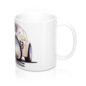 VW Beetle - Herbie - Caricature Car Art Coffee Mug