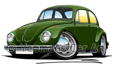 Load image into Gallery viewer, Volkswagen Beetle - Super Beetle - Caricature Car Art Coffee Mug