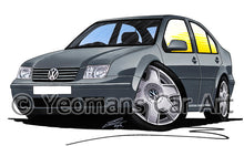 Load image into Gallery viewer, Volkswagen Bora - Caricature Car Art Print
