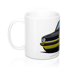 Volkswagen Golf (Mk1) (Yeo-B) - Caricature Car Art Coffee Mug