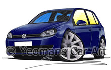 Load image into Gallery viewer, Volkswagen Golf (Mk6) (5dr) - Caricature Car Art Coffee Mug