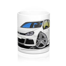 Load image into Gallery viewer, Volkswagen Golf (Mk6) R (5dr) - Caricature Car Art Coffee Mug
