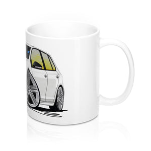 Volkswagen Golf (Mk6) R (5dr) - Caricature Car Art Coffee Mug
