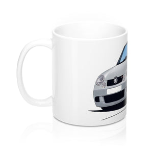 Volkswagen Lupo GTi - Caricature Car Art Coffee Mug