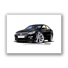 Load image into Gallery viewer, Volkswagen Passat CC - Caricature Car Art Print