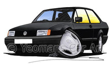 Load image into Gallery viewer, Volkswagen Polo (Mk2)(Facelift) Saloon - Caricature Car Art Coffee Mug