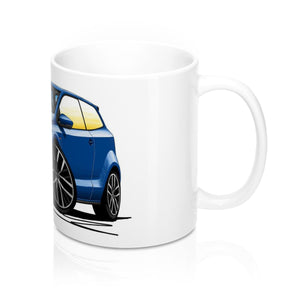 Volkswagen Polo (Mk5)(Facelift)(6C) GTi - Caricature Car Art Coffee Mug