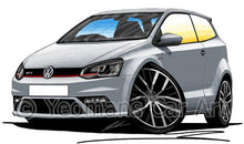 Load image into Gallery viewer, Volkswagen Polo (Mk5)(Facelift)(6C) GTi - Caricature Car Art Coffee Mug