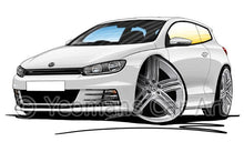 Load image into Gallery viewer, Volkswagen Scirocco (Mk3) R-Line - Caricature Car Art Coffee Mug